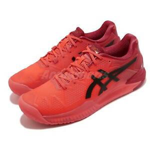 Asics Gel-Resolution 8 Tokyo Sunrise Red Black Men Tennis Shoes 1041A185-701