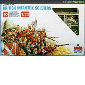 BRITISH INFANTRY SOLDIERS - ZULU WAR - A1
