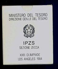 500  Lire XXII Olimpiadi di Los Angeles  1984 FDC