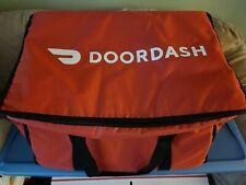 "DoorDash DDH028 Catering Bag, 22.5"" x 14"" x 13"" - No Box   w/small DD bag"