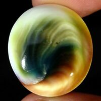 30.50Cts Natural Shiva Eye Oval Cabochon Loose Gemstone