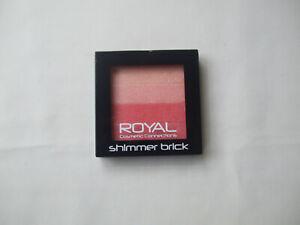 Royal Shimmer Brick Coral Glow Blush New
