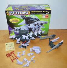 Vintage Zoids Berserk Fury Motorized Action Figure Model Kit Near Complete 2001