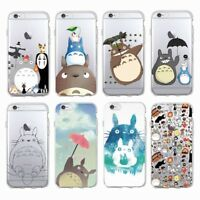 Totoro Spirited Away Soft Case for iPhone 7 8 Plus 6 6S Plus X XR XS Max 11 Pro