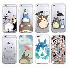 Totoro Spirited Away Blando Estuche Para iPhone 7 8 Plus 6 6S Plus Xr XS Max 11 Pro X