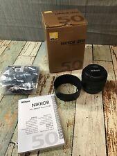 Nikon NIKKOR AF-S 50mm F/1.8G Lens - Black