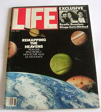 Vintage LIFE Magazine USA - June 1981 - Ku Klux Klan - Mengele - Ringo Marries