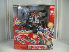"Transformers 15"" Energon Omega Sentinel Powerlinx w/ Lights and Sound 2004  MISB"