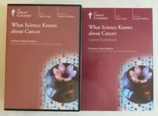 The Great Courses What Science Knows about Cancer Professor Sadava Dvd & Book