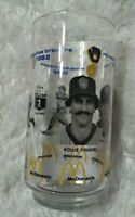1982 Milwaukee Brewers Rollie Fingers Ted Simmons McDonalds Drinking Glass