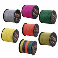 Dorisea Pro 6LB-300LB 300M/328yds 12Colors Dyneema 100%PE Braid Fishing Line