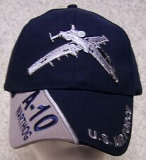 Embroidered Baseball Cap Military Airplane A-10 Warthog NEW 1 hat size fits all