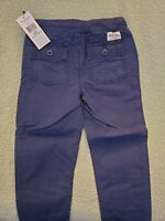 NEW Ralph Lauren POLO BOYS 4 4T navy blue pants cotton ripstop designer NWT tags