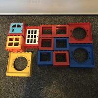 Lego DUPLO 12x Windows And Doors Job Lot/Bundle