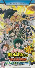 My Hero Academia Tag Card Game Booster Plus Ultra Pack Vol.1 Box HAX-01 Japanese
