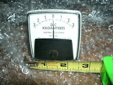 Ge General Electric 3 0 3 Dc Kiloamperes Panel Meter Type Dw 91 50 152122gbvj2ah
