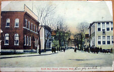 1908 Postcard: South Main Street - Attleboro, Massachusetts MA