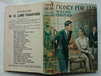 W H LANE CRAUFORD.MONEY FOR JAM.1ST/2 H/B D/J 1946 RARE