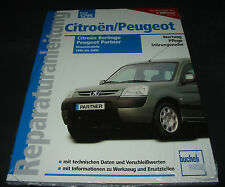 Reparaturanleitung Citroen Berlingo Peugeot Partner Diesel Motor 1996 - 2006 NEU