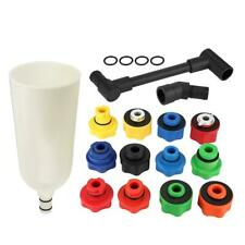 15pcs Car Engine Oil Funnel Filler with Adaptor Tool Set  ABS Plastic