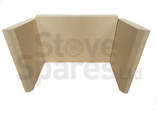 CLEARVIEW VISION INSET VERMICULITE FIRE BRICK SET - P55CR030
