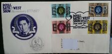 GB 1977 Silver Jubilee Stamp on Royal Bath & West Show Bicentenary Cover