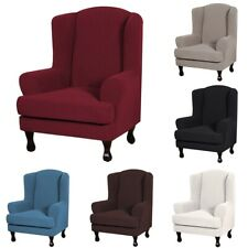 Wing Chair Cover Recliner Slipcover 1-Seat Sofa Cover Elastic Chair Protector