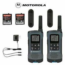 Motorola Walkie Talkies for Hunting 20 Mile Range 2 Radios & 2 Year Warranty!