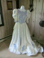 Ladies Cinderella Ball Gown Halloween Costume Small