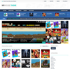 Turnkey Gaming Website Script Customize, Autopilot, Mobile Friendly, Full Screen