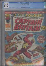 Captain Britain #1 CGC 9.6 1976 Marvel 1st App and Origin Issue: New Frame