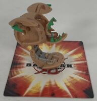 Bakugan Leefram 600G Tan Subterra New Vistoria Battle Brawlers Spin Master