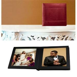 Leather Album Designs CP2613810320B Matted 8X10 Black Faux Leather 20 Pg - 40...