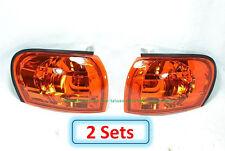 2 Sets (DHL) - for SUBARU IMPREZA GC8 CC8A 1995-2000 Corner Lights Lamps- Yellow