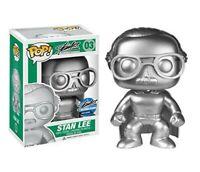 Funko Pop!#03 Stan Lee Platinum Sliver Superhero2015 Comikaze Excl. NIB RARE HTF