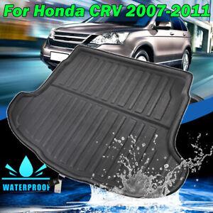 For Honda CR-V CRV 2007-2011 Rear Trunk Cargo Liner Boot Tray Mat Floor Carpet