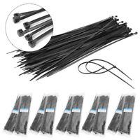 "1000pcs 60 lbs 12"" Nylon Plastic Zip Trim Wrap Cable Loop Ties Wire Self Lock"