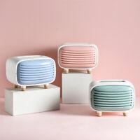 BG_ Fashion Radio Shape Tissue Box Case Paper Towel Napkin Holder Home Office De
