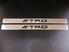 TRD chrome door sills sill plate