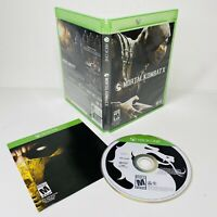 Mortal Kombat X 10 Microsoft Xbox One 2015 TESTED WORKS Complete