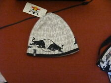 KINI RED BULL ENERGY DRINK WINTER SKULL CAP/HAT/BEANIE Reversible