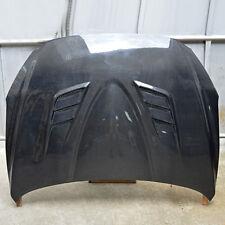Carbon Fiber Auto Engine Covers Hoods Machine Frame Black For Mazda 3 Axela 2014