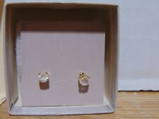 Stud Earrings Nos 1984 Avon Simulated Diamond