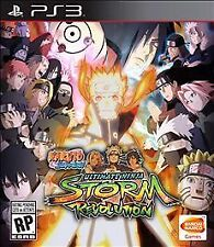 NEW Naruto Shippuden: Ultimate Ninja Storm Revolution (Sony Playstation 3, 2014)