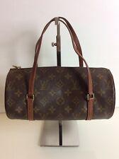 Authentic RARE Louis Vuitton Monogram Papillon 26 Top Handle Bag. VGC