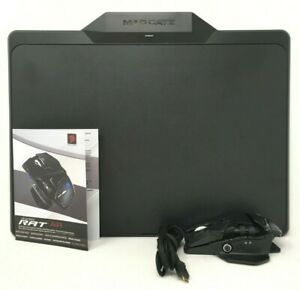 Verbatim Mad Catz R.A.T. AIR Wireless Gaming Mouse w/ Activation Board *NOB*