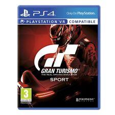 Gran Turismo Sport Racing PAL Video Games