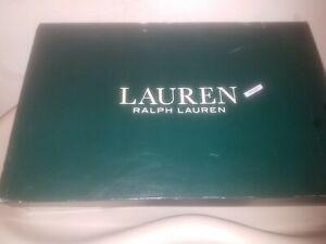 Ralph Lauren Green and Blue Rain Boots Size 11