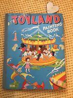 RARE HARDBACK VINTAGE , Toyland Picture Book.