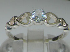 Unbranded Natural Aquamarine White Gold Fine Jewellery